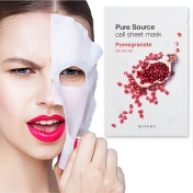 Pure Source Cell Sheet Mask (Pomegranate)