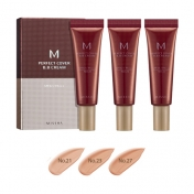 M Perfect Cover BB Cream Set (No.21/No.23/No.27)