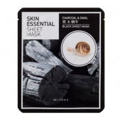 Skin Essential Sheet Mask (Charcoal&Snail)