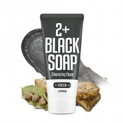 A'PIEU Fresh Blacksoap 2+ Cleansing Foam