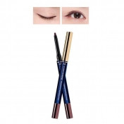 M Super Extreme Waterproof Soft Pencil Eyeliner Auto (Deep Wine)