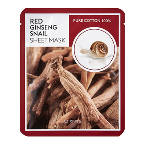 Skin Essential Sheet Mask Ginseng&Snail