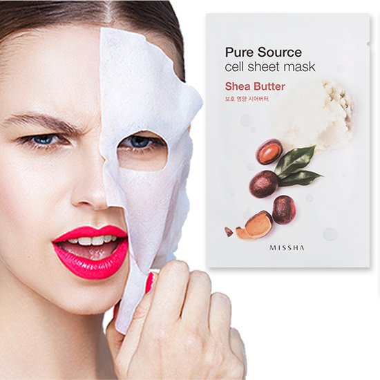 Pure Source Cell Sheet Mask (Shea Butter)