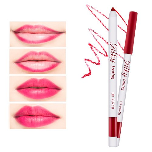 Silky Lasting Lip Pencil (Ruby Cherry)