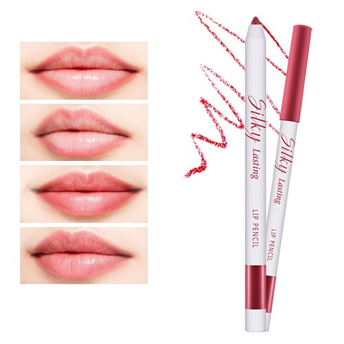 Silky Lasting Lip Pencil (Coffee Berry)