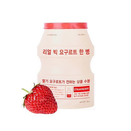 A'PIEU Real Big Yogurt One-Bottle (Strawberry)