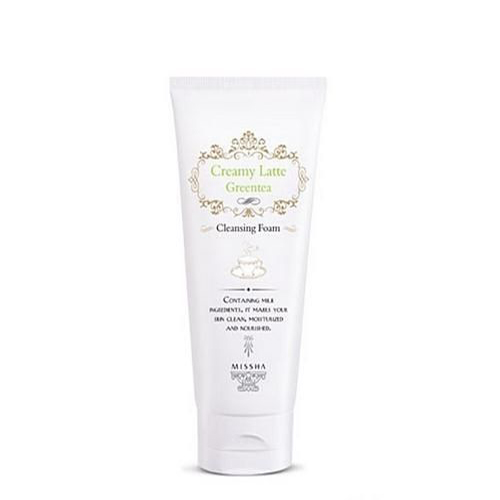 Creamy Latte Cleansing Foam (Green Tea)