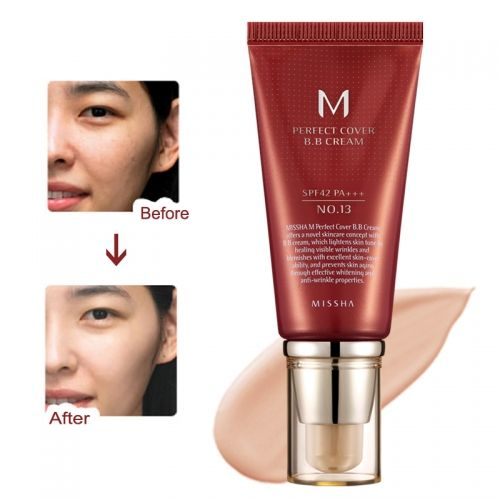 M Perfect Cover BB Cream No: 13