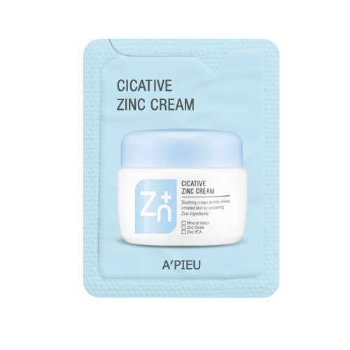 A'PIEU Cicative Zinc Cream (1Ml/Film)
