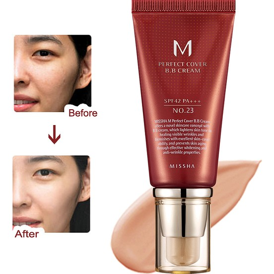 M Perfect Cover BB Cream No: 23