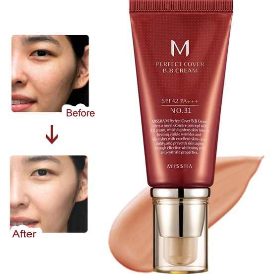 M Perfect Cover BB Cream No: 31