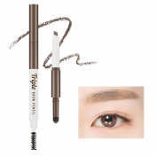 Triple Brow Pencil (Natural Brown)