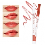 Silky Lasting Lip Pencil (BR02/Salsa Red)