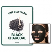 A'PIEU Pore Deep Clear Black Charcoal Mask