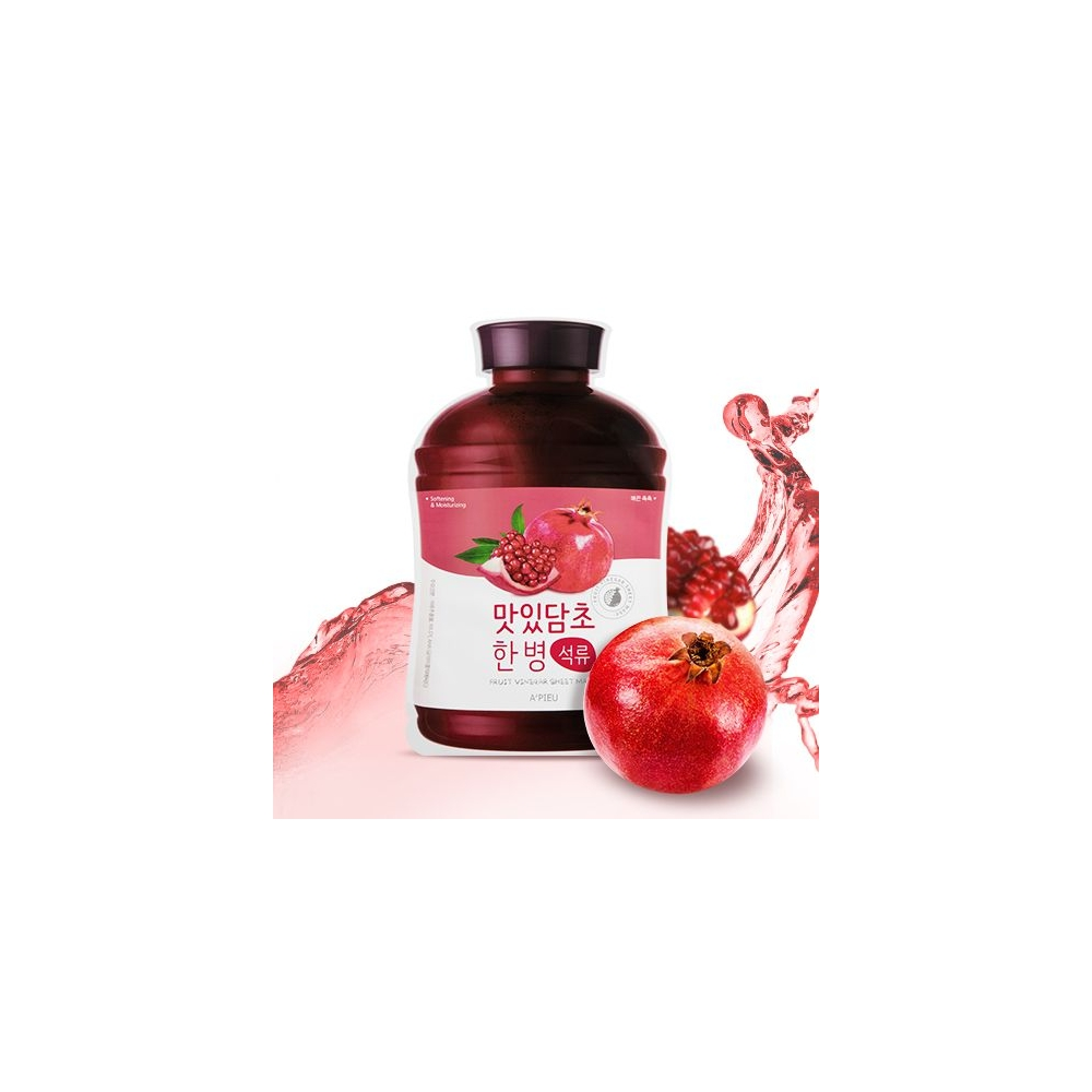 A'PIEU Fruit Vinegar Sheet Mask (Pomegranate)