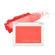 Cotton Blusher (Red Flat)