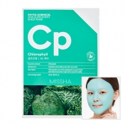 Phytochemical Skin Supplement Sheet Mask (Chlorophyll/AC Care)