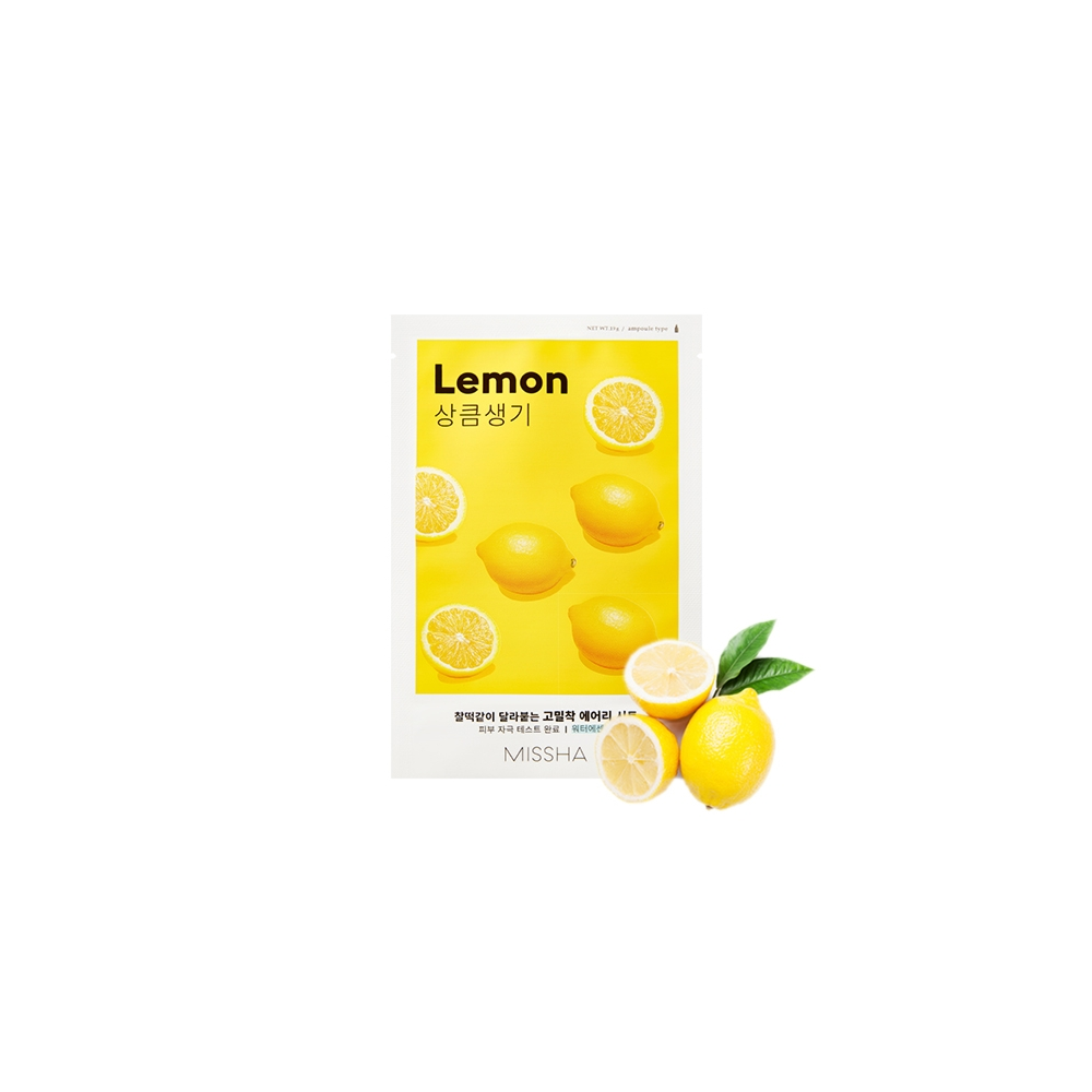 Airy Fit Sheet Mask (Lemon)