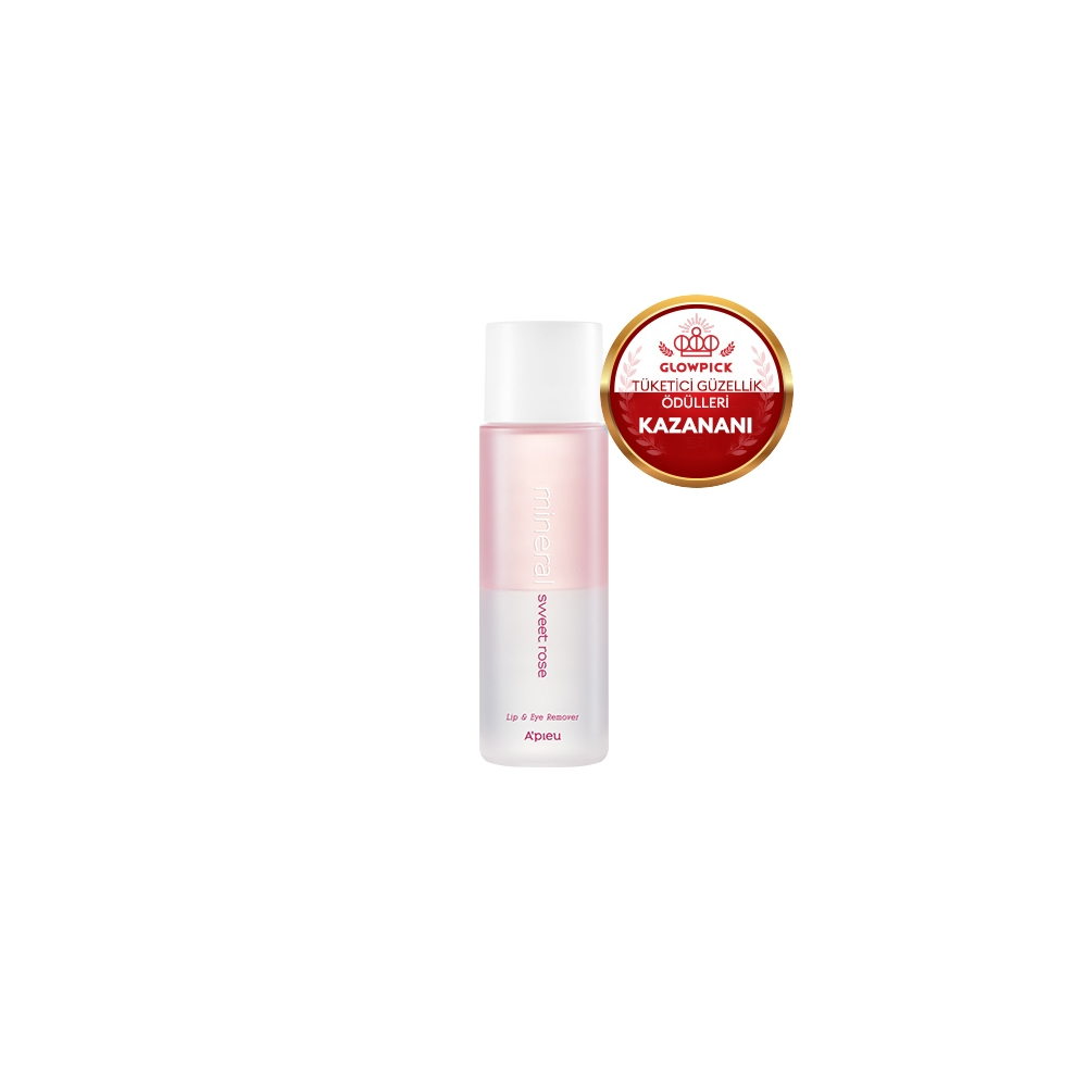 A'PIEU Mineral Lip&Eye Remover(Sweet Rose)