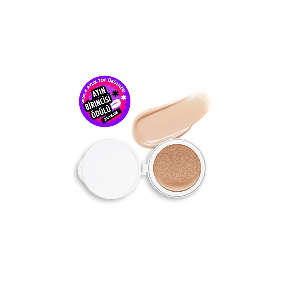 Velvet Finish Cushion SPF50+/PA+++ (No.23) (İç Yedek )