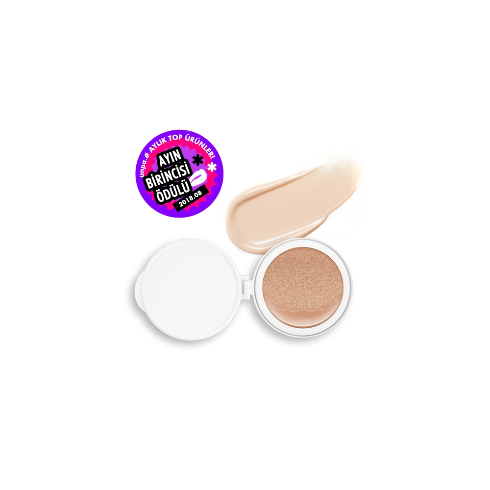 Velvet Finish Cushion SPF50+/PA+++ (No.21) ) ( İç Yedek  )