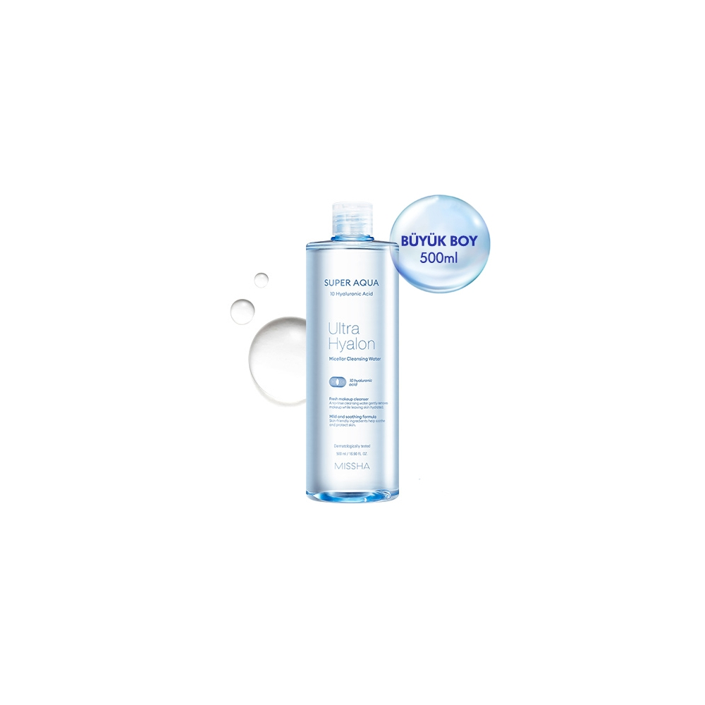Super Aqua Ultra Hyalon Micellar Cleansing Water