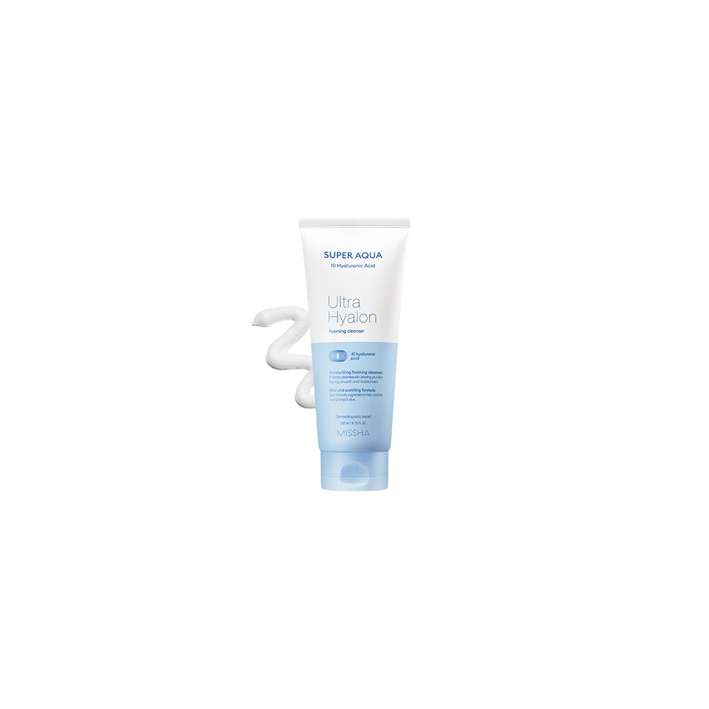 Super Aqua Ultra Hyalon Cleansing Foam