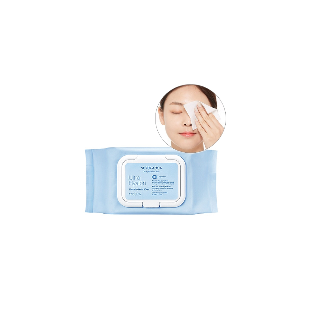 Super Aqua Ultra Hyalon Cleansing Water Wipes
