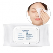 SuperAqua Ultra Hyalron Cleansing Oil Wipes