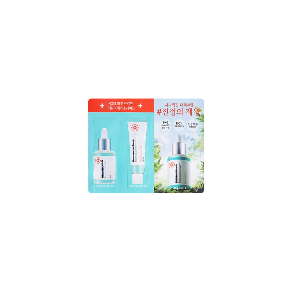 A'PIEU Madecassoside Ampoule (1G/Film) & Madecassoside Cream(2 x 1Ml/Film)