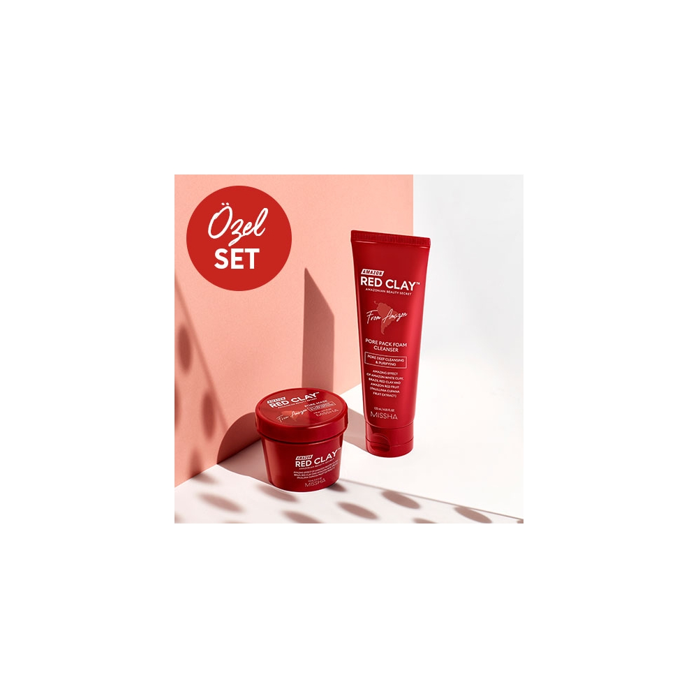 Amazon Red Clay Pore Avantajlı Set