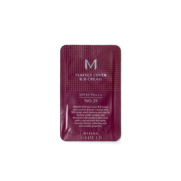 M Perfect Cover BB Cream (No.21)