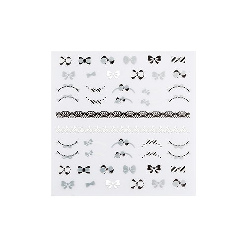 Water Free Decal Nail Sticker (Lovely Strap)