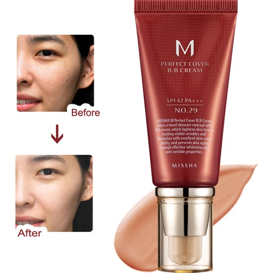 M Perfect Cover BB Cream No: 29