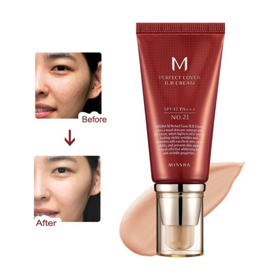 M Perfect Cover BB Cream No: 21