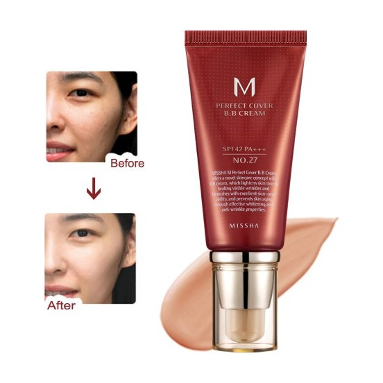 M Perfect Cover BB Cream No: 27